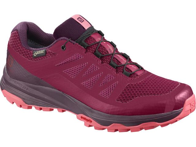 Salomon XA Discovery GTX Shoes Dame beet red/potent purple/calypso coral